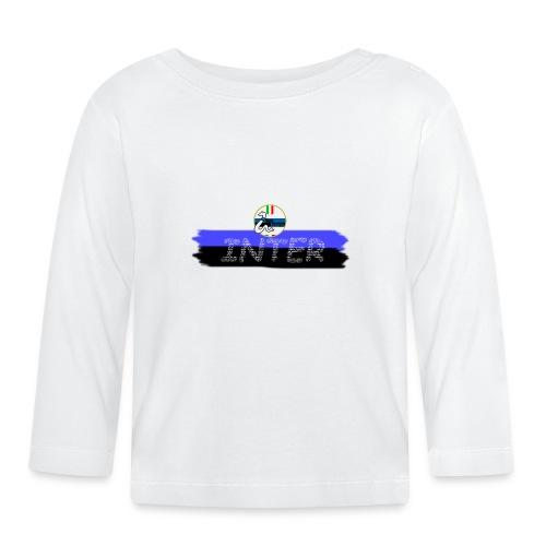 Linea Inter NeroAzzurro - Maglietta a manica lunga per bambini