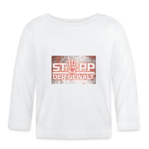 STOPP DER GEWALT - Baby Long Sleeve T-Shirt