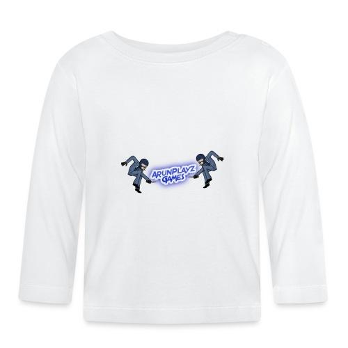 ArunPlayzGames Banner - Baby Long Sleeve T-Shirt
