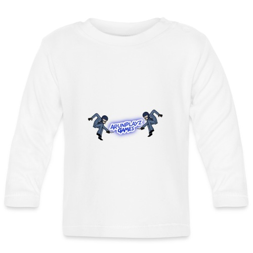 ArunPlayzGames Banner - Baby Long Sleeve T-Shirt