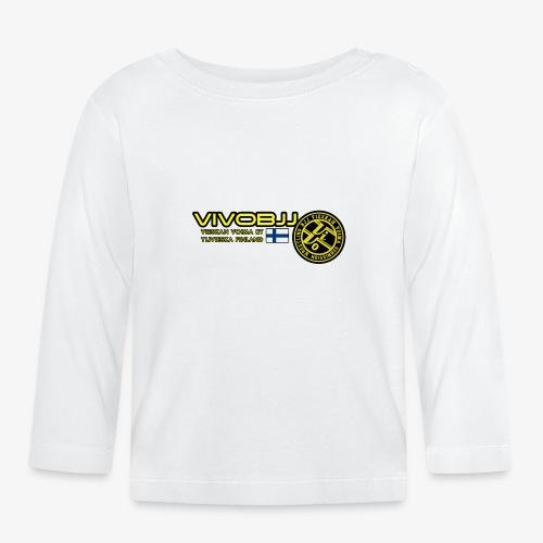 ViVoBJJ Patch White - Vauvan pitkähihainen paita