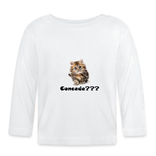 Concede kitty - Langarmet baby-T-skjorte