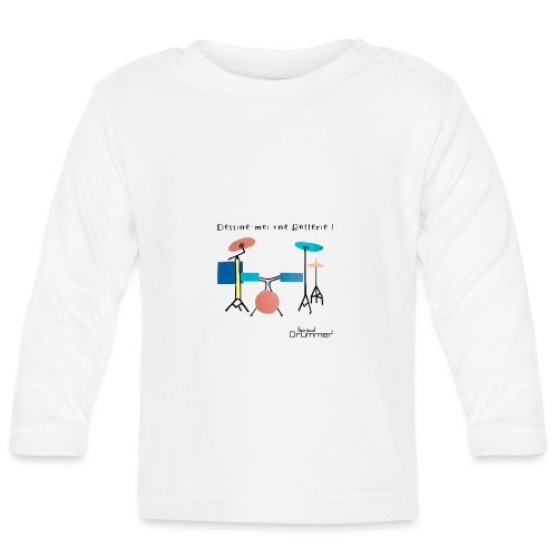 Azia Drum - Baby Long Sleeve T-Shirt