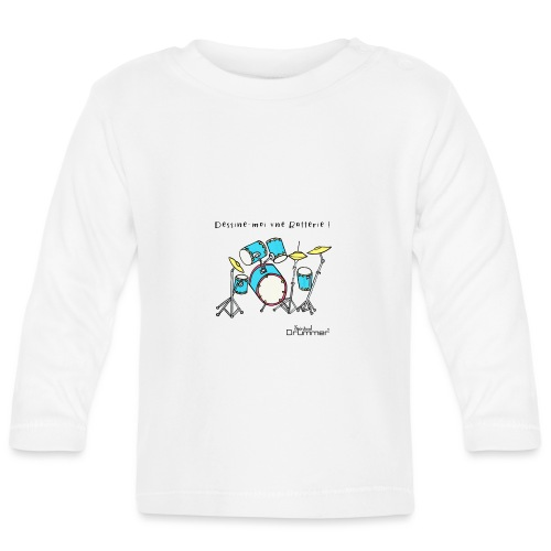 Luigi Drum - Baby Long Sleeve T-Shirt