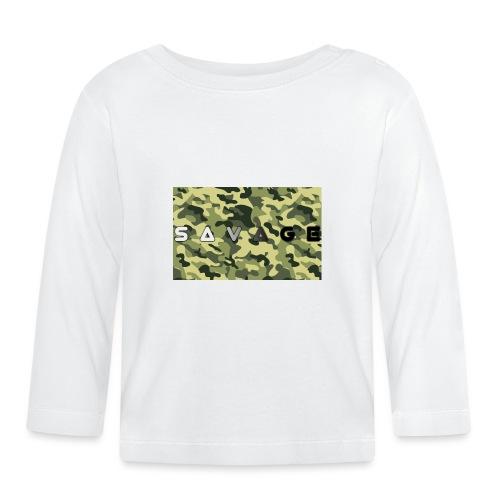 savage camo premium - Baby Langarmshirt