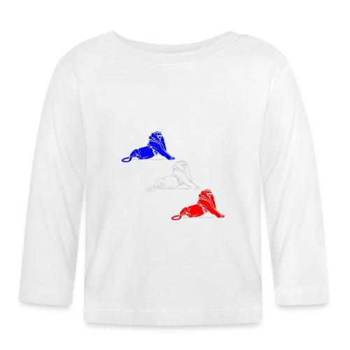 Lion Belfort tricolore - T-shirt manches longues Bébé