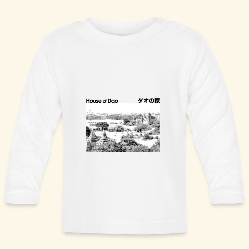 House of Dao - Temple BW - Baby Langarmshirt