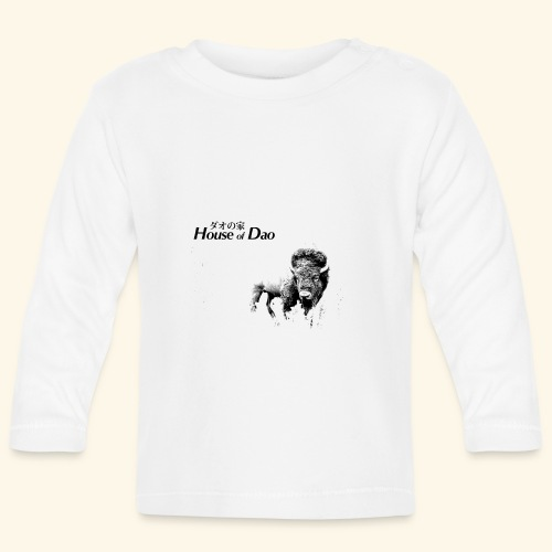 House of Dao - Buffalo BW - Baby Langarmshirt