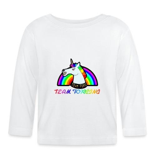 Logo officiel de la team forcing - T-shirt manches longues Bébé