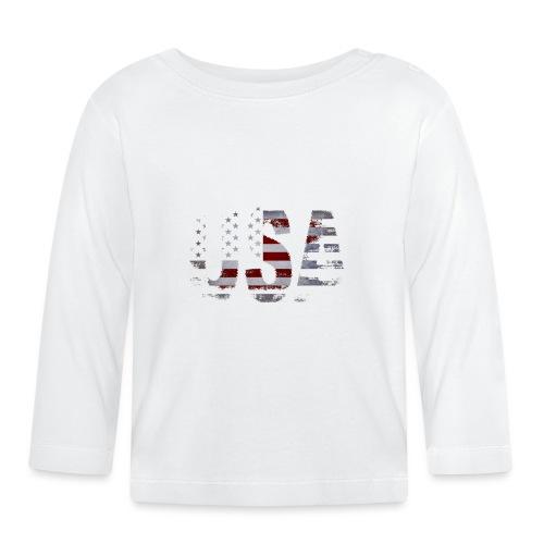 USA - T-shirt manches longues Bébé