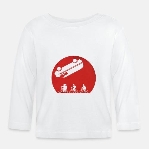 Stranger Things Eleven 80's Design - Baby Long Sleeve T-Shirt