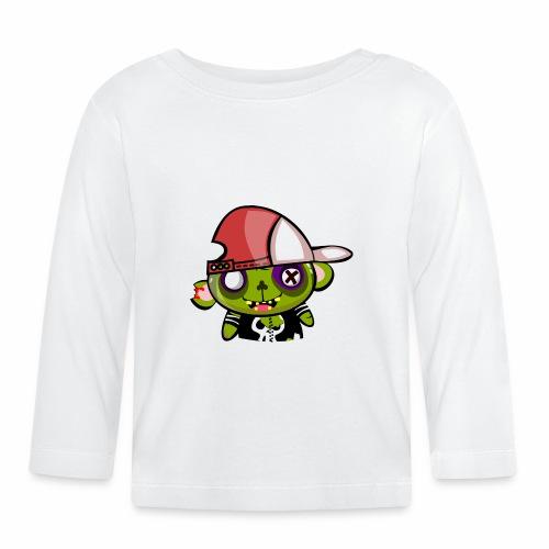 zombie hiphop - Camiseta manga larga bebé