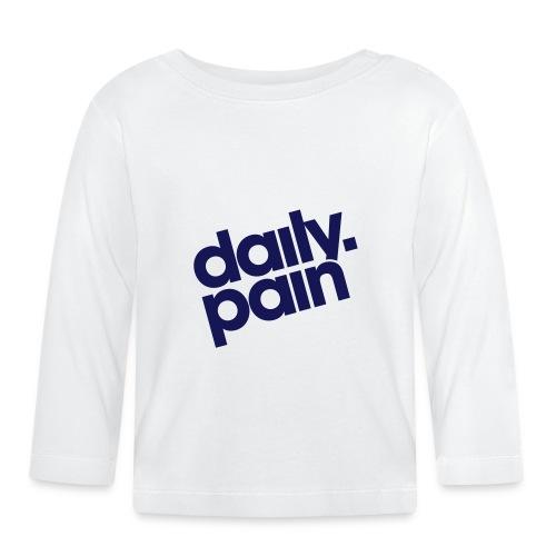 daily pain classic - Koszulka niemowlęca z długim rękawem