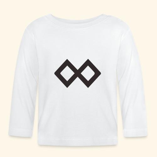 TenX Logo - Baby Langarmshirt