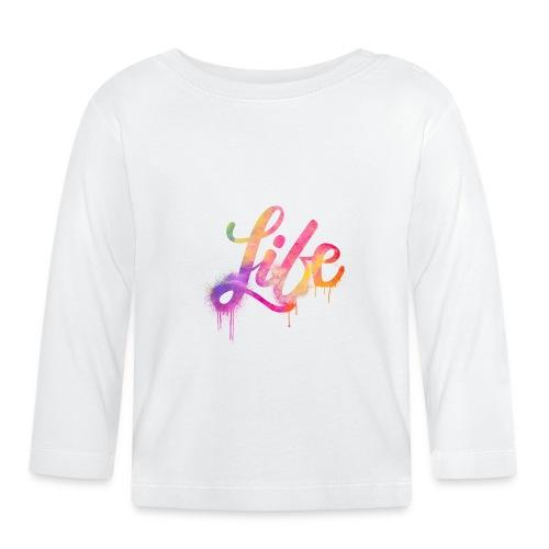 life - Maglietta a manica lunga per bambini