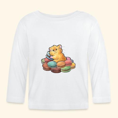Macaron-Hamster - Baby Langarmshirt