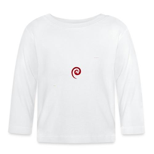 linux wallpaper png best of linux debian 2560 1600 - Långärmad T-shirt baby