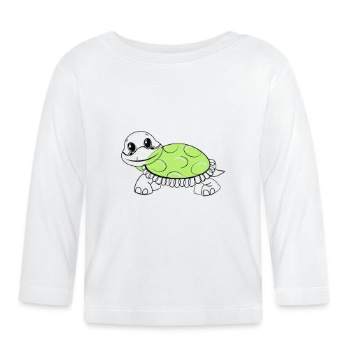 Schildkröte - Baby Langarmshirt