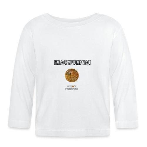 I'm a cryptomaniac - Maglietta a manica lunga per bambini