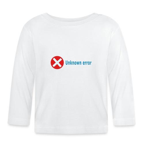 Unkown Error - Vauvan pitkähihainen paita