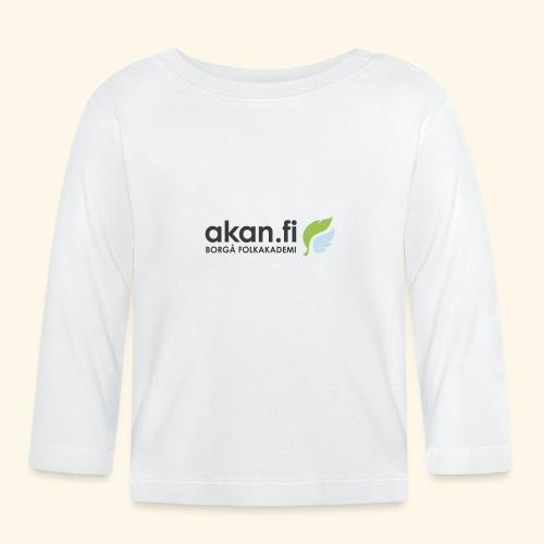 Akan Black - Långärmad T-shirt baby