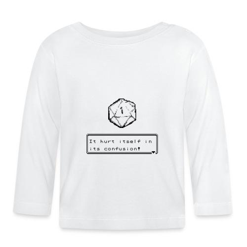 Échec critique lui-même dans la confusion D & D DnD - T-shirt manches longues Bébé
