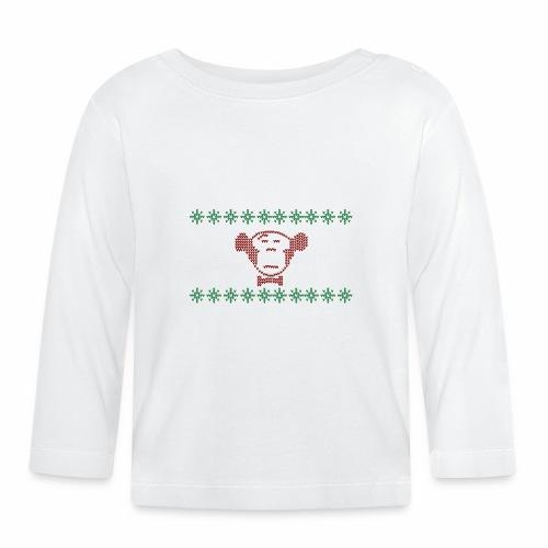 Ugly Christmas MonkeyMedia - Baby Langarmshirt