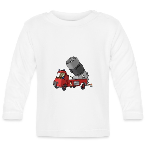 Wasserwerfer - Baby Langarmshirt