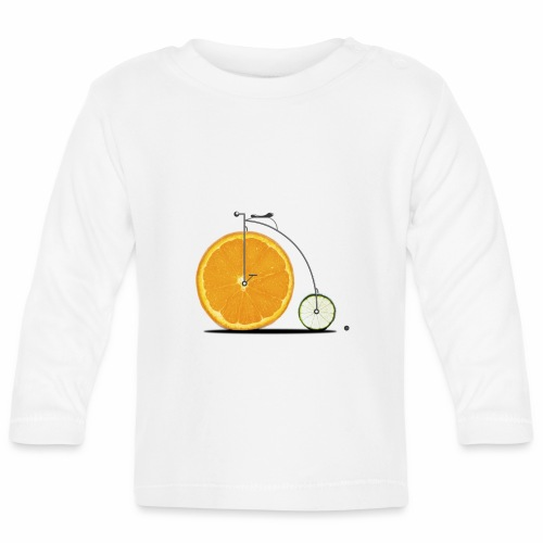 Fruit Bicycle - Baby Long Sleeve T-Shirt