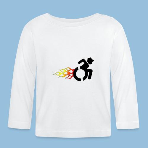 Roller met vlammen 008 - T-shirt