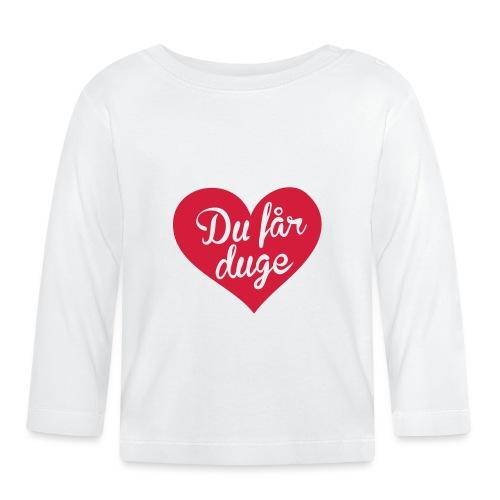 Ekte kjærlighet - Det norske plagg - Langarmet baby-T-skjorte