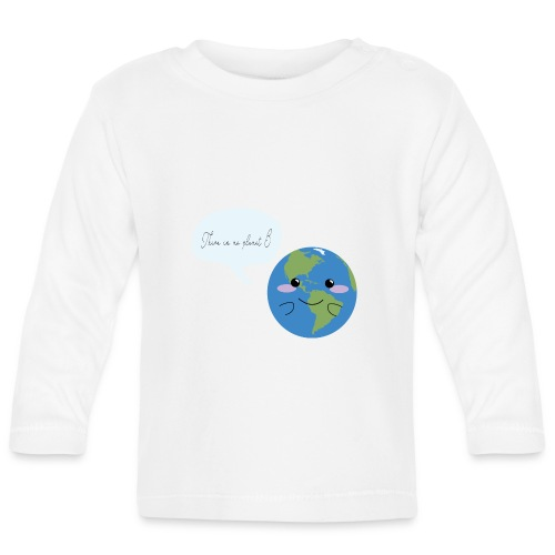 There is no planet B - Baby Langarmshirt