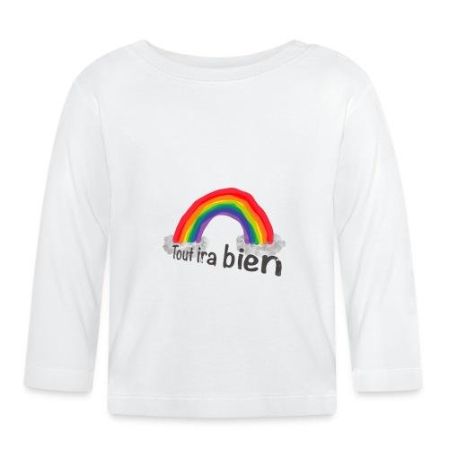 Tout Ira Bien - Arc en Ciel - T-shirt manches longues Bébé
