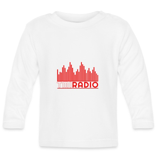 NEW TMI LOGO RED AND WHITE 2000 - Baby Long Sleeve T-Shirt