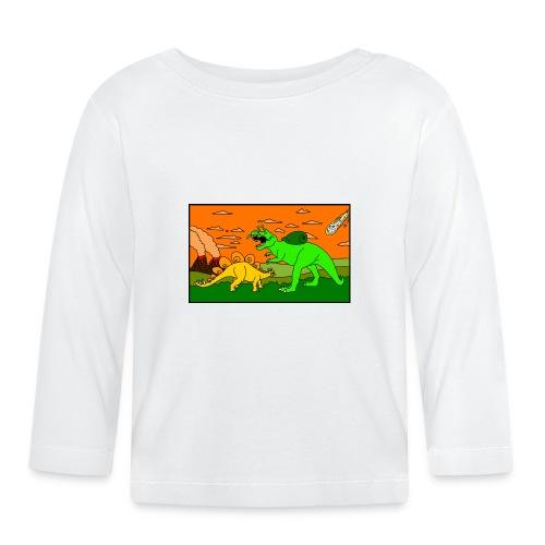 Schneckosaurier von dodocomics - Baby Langarmshirt