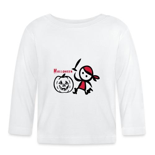 Kürbis Halloween - Baby Langarmshirt