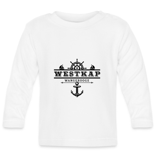 Westkap Wangerooge Logo - Baby Langarmshirt