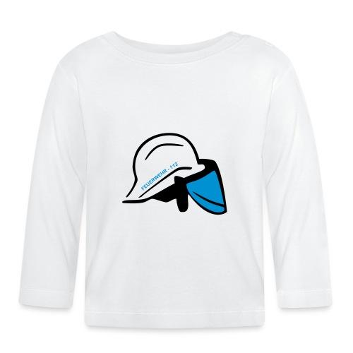 Feuerwehr Helm - Baby Langarmshirt