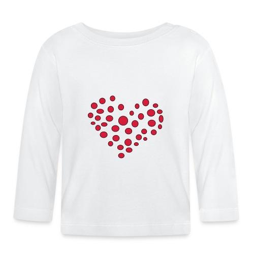 Polka - Langærmet babyshirt