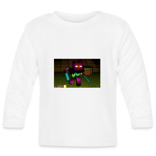 AwesomeSauce Minecraft 2 Swords - Baby Long Sleeve T-Shirt