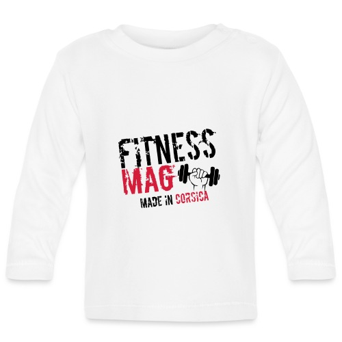 Fitness Mag made in corsica 100% Polyester - T-shirt manches longues Bébé