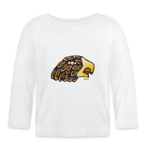 Aztec Icon Eagle - Baby Long Sleeve T-Shirt