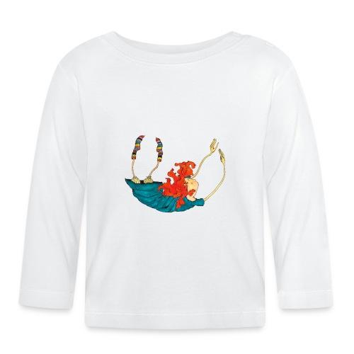 Frit fald - Langærmet babyshirt