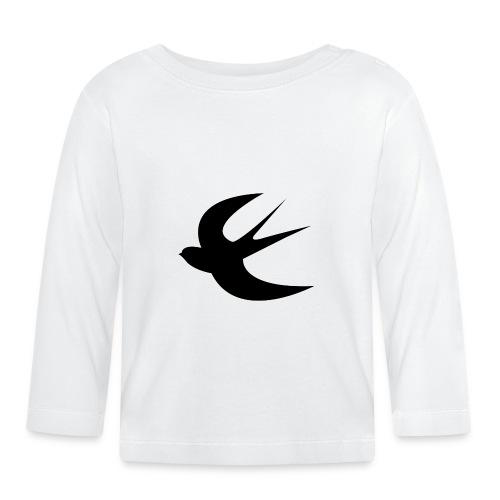 hirondelleblack - T-shirt manches longues Bébé