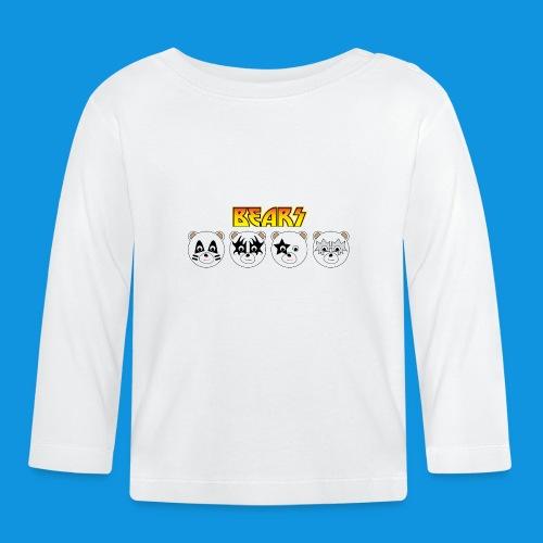 Kiss Bears.png - Baby Long Sleeve T-Shirt