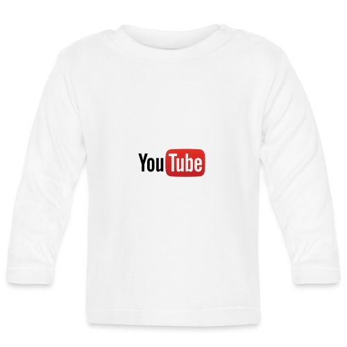 YouTube logo - T-shirt manches longues Bébé