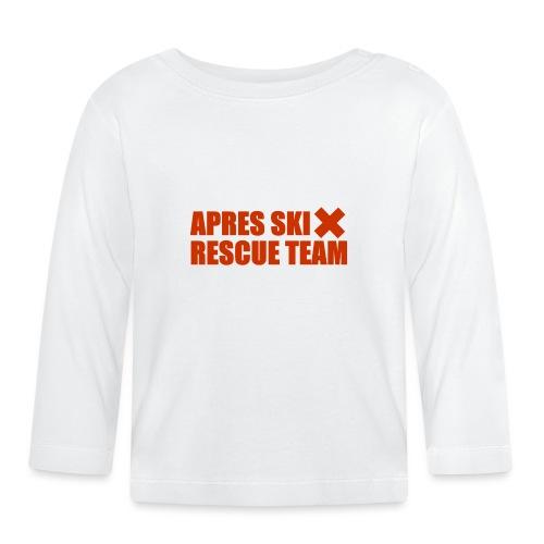 apres-ski rescue team - Baby Long Sleeve T-Shirt