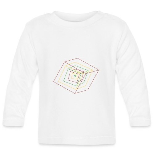 Rasta Cubes - T-shirt manches longues Bébé