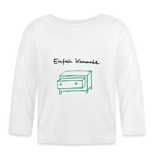 Einfach Kommode - Baby Langarmshirt
