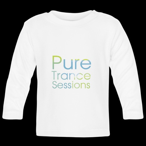 PureTrance100 transparantGROOT kopie png - Baby Long Sleeve T-Shirt